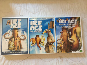 ICE AGE 3 DVD COLLECTION West Island Greater Montréal image 1