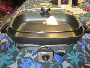 Oyster Electric Frypan and  Wine bottle holders Kingston Kingston Area image 2