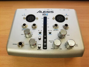 Alesis io2 Express USB MIDI Audio Interface