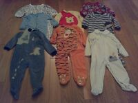 Fall/Winter Baby Boy Sleepers -x8 (Size 24 Months)