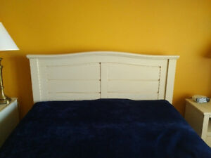 Headboard and Bedside Table