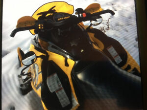 2006 skidoo mxz 600 ho sdi with xpackage mint shape