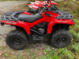 CAN AM OUTLANDER 500 VTWIN GREAT SHAPE READY FOR THE WOODS