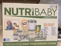 NutriBaby / Nutribullet MagicBullet Food processor blender