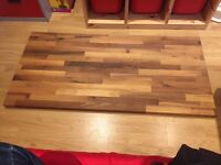 Wooden work tops. Treated. Never used. Excellent condition