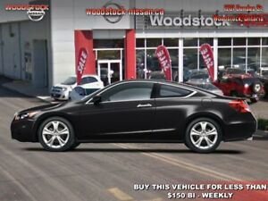 2011 Honda Accord Sedan EX-L V6 w/ Navigation  - $141.50 B/W