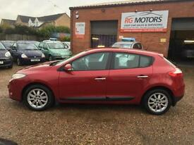 2009 Renault Megane 1.6 VVT 110 Privilege, MKIII Red 5dr Hatch, *ANY PX WELCOME*