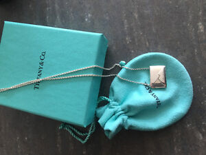 Tiffany Love Letter Necklace
