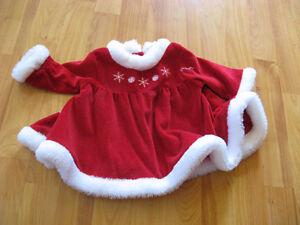 Robe de Noel pour bébé 3 mois