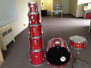 Tama Artstar II - 7 piece Shell Kit + cases West Island Greater Montréal image 2