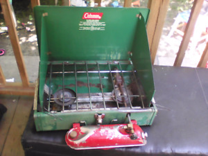 "Coleman gas camping ""stove top"""