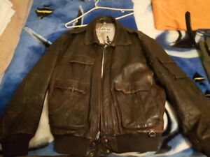 Vetter Leather Bomber Jacket $200.00