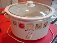 Used Proctor Silex 4QT Slow Cooker