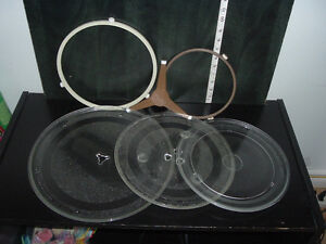 REPLACEMENT TURNABLE GLASS PLATE TRAY FOR MICROWAVE West Island Greater Montréal image 1