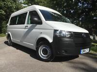 2014 Volkswagen Transporter 2.0TDi (102PS) LWB T32, Window Van, VW T5