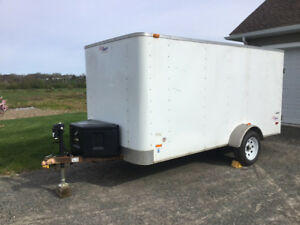 Enclosed Job Trailer
