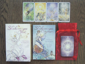 Shadowscapes Tarot Deck and book Fantasy artwork Stephanie Law