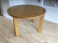 Pure wood pine table