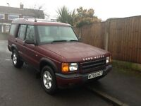 Land Rover Discovery TD5 GS Auto year 2000 7 seater