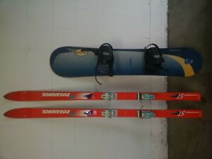 Sno Board & Skis, harnessed