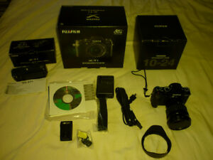 Fuji Xf 10-24 f4 Lens and Fuji XT-1  digital Camera +VGXT1  grip