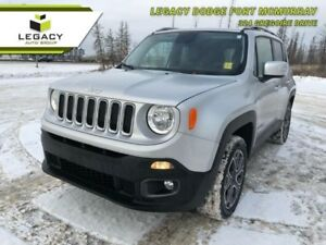 2015 Jeep Renegade LIMITED LEATHER, STEREO, SKY VIEW ROOF LOW KM