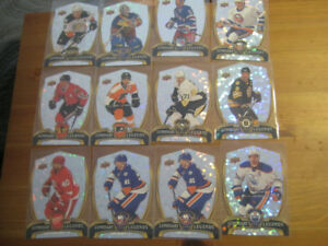 12 Hockey Card Lot - 2015 16 UD NHL Overtime Tavares Malkin...