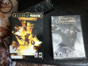 PC Games never played - Alien Vs Predator , Pirates of Caribean