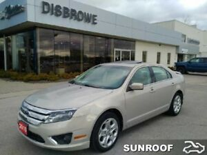 2010 Ford Fusion SEL  Leather, Sunroof, Heated Seats
