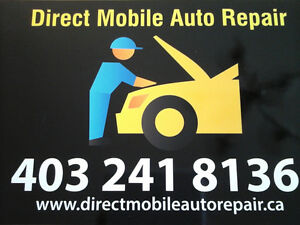 Direct Mobile Auto Repair   AMVIC and CITY OF CALGARY LICENSED