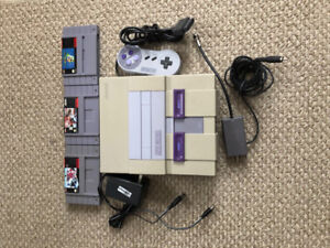 Super NES package