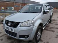 Great Wall Steed 2.0TD 4X4 S DOUBLECAB PICKUP - 2013 63-REG - FULL 12 MONTHS MOT