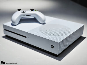 2tb Xbox One S with games and headset