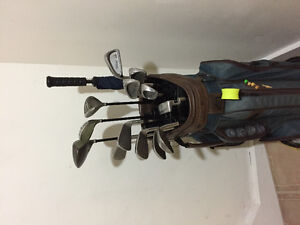 Left golf club set