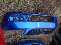 2015 skoda octivia front bumper (vrs blue )