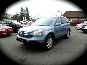 2008 Honda CR-V EX-L, LEATHER, MOONROOF, HEATED SEATS ** AWD **
