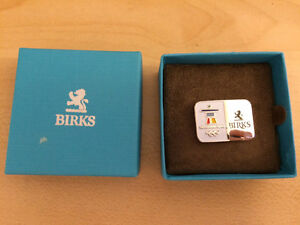 Authentic BIRKS Vancouver 2010 Olympics Pin with Box