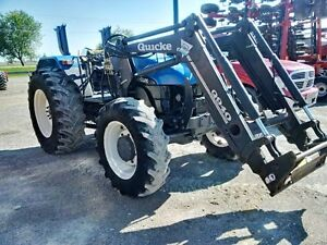 2002 New Holland TL80 Tractor London Ontario image 2