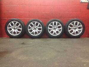 "16"" Mini Cooper WINTER ~ TIRES &RIMS ~ 4x100mm ~ 195/55R16 ~ 90%"