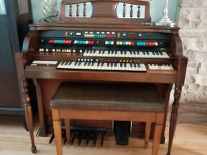 Organ.  Moving and must sell!