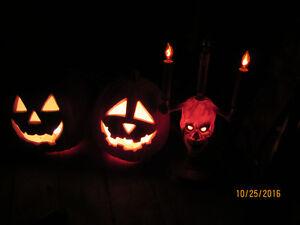 Citrouille életrique / Electric pumpkins - Halloween