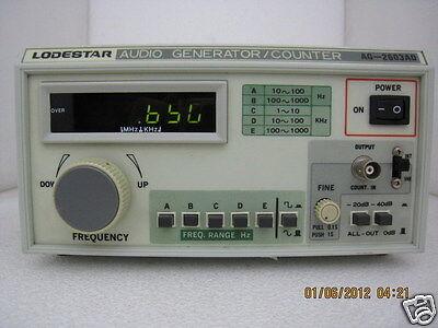 Lodestar Ag-2603ad Digital Audio Generator 10hz - 1 Mhz