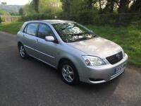 Toyota Corolla 1.6 VVT-i T3 BRAND NEW CLUTCH FITTED + DRIVES SUPERB