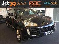 2009 09 PORSCHE CAYENNE 4.8 S TIPTRONIC S 5D AUTO BLACK LEATHER