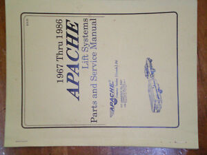 NEW APACHE CAMPER PARTS AND MANUAL London Ontario image 1