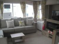 For sale new static caravan holiday home sited South Devon beach pool bar