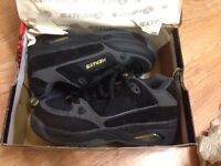 Kids boys healys skate trainers shoes black yellow new!!