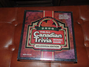 2000 Canadian Trivia Game