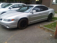 2001 Pontiac Grand Prix gt Berline
