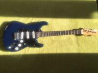 Gear4music strat style guitar